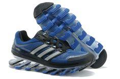 57f1dd4945ea9 Adidas Springblade Men s Running Shoes (Blue Black) …
