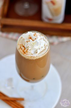 Horchata Iced Coffee