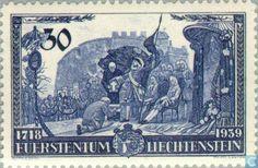Stamps - Liechtenstein - Prince Franz Josef II Commemoration 1939