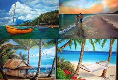 """Oil painting 30""""x 24"""" """"Cuba Seascape Collection"""". Choose any painting on Gallery"""