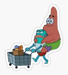 Spongebob stickers featuring millions of original designs created by independent artists. Stickers Cool, Red Bubble Stickers, Meme Stickers, Tumblr Stickers, Phone Stickers, Printable Stickers, Accessoires Iphone, Aesthetic Stickers, Transparent Stickers