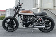 1983 Honda CB400 Cafe Brat by JASIN Motorcycles