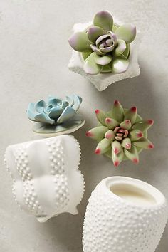 "Anthropologie..... ""It's the little touches in your home that can tell a story without saying a word"""