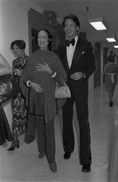 Diana Vreeland and Calvin Klein