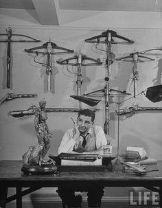 Charles Addams - photo by Al Fenn, 1946