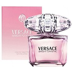 Versace Bright Crystal Eau de Toilette Spray for Women, 6.7 Ounce *** You can get additional details at the image link. (This is an affiliate link) #Fragrance