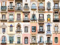 스페인 바르셀로나 #안드레 빈센트 곤코베스(André Vicente Gonçalves)의 <세계의 창문 :Windows of the world>