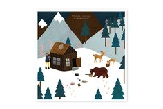 Seasons greeting - www.allthewaystos... - Illustrated cards, notebooks, Calendar & notepads
