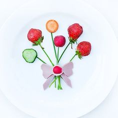 Meriendas divertidas para niños - Fruta - Verdura - York