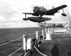 Curtis SC-1 Seahawk floatplane -- National Archives #80-G-399644
