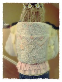 Shabby Chic Toddler Tula Removable Slip Cover Full by CrazyMagpie