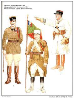 FRENCH FOREIGN LEGION 1914 1945 LEGION ETRANGERE GUERRE UNIFORME HISTORIQUE COMBAT