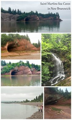Saint Martins Sea Caves in New Brunswick, Canada are one of the most breathtaking family-friendly activities in the province. A must-see on your vacation!