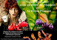 Théâtre de la Dame de Coeur – Théâtre de marionnettes géantes