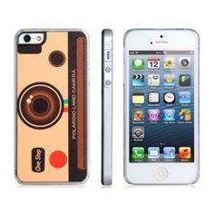 Vintage Camera Brown iPhone 5 case