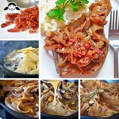 Whole30 Day 12: Bacon + Apple Smothered Pork Chops by Michelle Tam http://nomnompaleo.com
