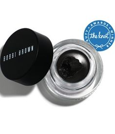Bobbi Brown Gel Eye Liner! goes on amazing and does not come off in water-- great for a vacation at the beach-- can't go anywhere without my liner on :)