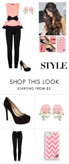 """""""Untitled #51"""" by alannabyanka ❤ liked on Polyvore featuring Jessica Simpson, Frame, Samsung and Dorothy Perkins"""