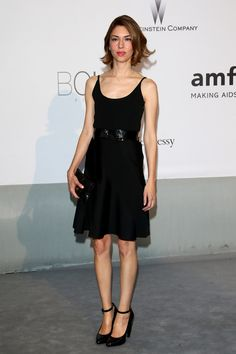 Sofia Coppola in Louis Vuitton at Cannes 2014