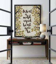 Red Wine Wall Art Poster Print w// Dave Matthews Band DMB lyrics Steady As We Go