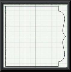 Make your own scrapbook paper, Cricut cut file #6