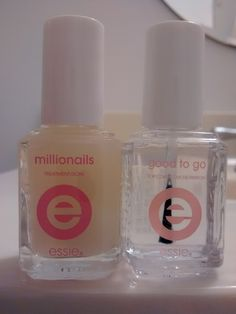 Millionails treat and Good to Go top coat. I received these products complimentary for testing purposes. #essienailedit