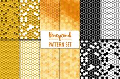 ⬇ Free download: Honeycomb Patterns