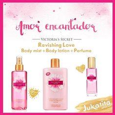 Ravishing love da Victoria's Secret a pronta entrega na loja www.jukatita.com.br #body #mist  #lotion #lojaonline #loja #corpo #commerce #ravishing #love #cremes #importado #cosméticos #beleza #beauty #pele #rosto #perfume #wish #wishlist #desejos #presente #gift #natal #spray #splash #banho #kit #blogger #compras #teen