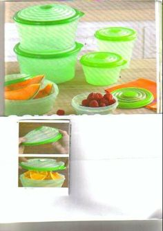 Tupperware Stuffable Bowls 6 Pc Tower by Tupperware. $48.00. Pearlescent Containers. Available for Limited Time. Dishwasher and Microwave Safe. Here's a complete, 6-pc. set of Stuffables containers in new holiday shades. And it solves any storage need, since the container seals expand to fit odd-shaped or bulky foods.  The flexible seals feature the new holiday shade of Garnet, with the container in Pearlescent for that special holiday flair. They truly give your storage needs a...