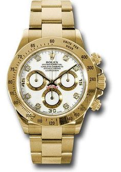 Buy Rolex Daytona Yellow Gold Bracelet Watches, authentic at discount prices. Complete selection of Luxury Brands. All current Rolex styles available. Oyster Perpetual Cosmograph Daytona, Rolex Cosmograph Daytona, Rolex Oyster Perpetual, Rolex Datejust, Rolex Daytona Steel, Rolex Watches, Watches For Men, Luxury Watches, Men Accessories