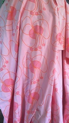A personal favourite from my Etsy shop https://www.etsy.com/se-en/listing/527576611/70s-scandinavian-pink-vintage-fabric-mod