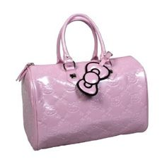 Loungefly Hello Kitty Patent Embossed City Bag