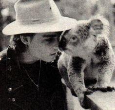 ........with a koala. Awwwwwwwww..... :)