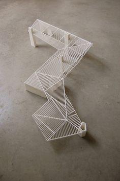 Perneel Osten Architecten | Emiel Claus Residence: Framing Model
