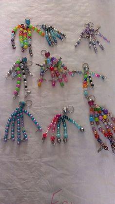 Diy sleutelhangers gemaakt tijdens een kinderfeestje.  www.creashoplimburg.nl