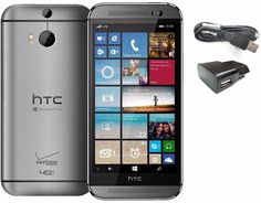 HTC One M8 6995L 32GB Verizon AT&T T-Mobile GSM UNLOCKED Cell Phone SRF