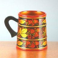 Khokhloma Souvenir Mug