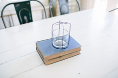 Framed Glass Vase