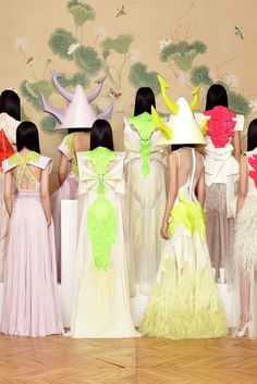 Givenchy, Spring 2011 Couture...I would die happy if I wore the gown on the bottom second from right