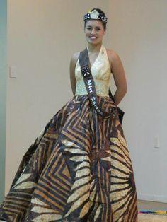 Amazing Design :) Miss Samoa 2012
