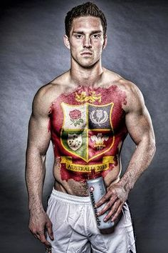 Lion George North--Rugby player from Wales