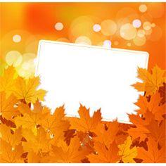 [フリーイラスト素材] イラスト, 背景, 植物, 葉っぱ, 紅葉 / 黄葉, 秋, カエデ / モミジ, メッセージカード, EPS ID:201407101700