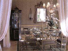 Dining room. Private residence, Alabama. Goldthorpe & Edwards, Ltd.