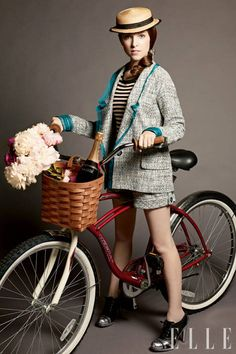 Anna Kendrick  Portland, Maine Anna began her acting career on stage, appearing in the Broadway musical High Society when she was just 12 years old. She says she caught the acting bug at the age of 10, thanks to her parents allowing her and her brothers to hop a bus from Portland to New York City, where she attended auditions.  Read our interview with Anna Kendrick here!  Carter Smith  - ELLE.com