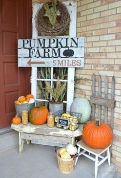 Rustic Farmhouse Style Porch Decorating Ideas (54)