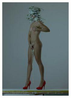 [+18] O nu conceitual e pervertido do fotógrafo Mustafa Sabbagh ~ Pêssega d'Oro
