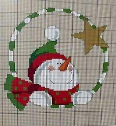 Cross Stitch Cards, Cross Stitching, Cross Stitch Embroidery, Cross Stitch Designs, Cross Stitch Patterns, Plastic Canvas Christmas, Cross Stitch Needles, Theme Noel, Christmas Embroidery