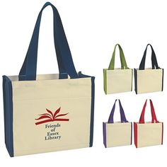 8eef59c28e93 Heavy Cotton Canvas Natural Tote Bag