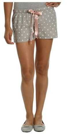 I love these sleep shorts. $10.50 from Wet Seal