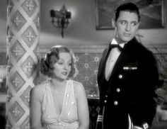 Tallulah Bankhead and Cary Grant in ''The Devil and the Deep''_ 1932